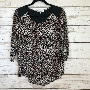 Olive & Oak animal print Top